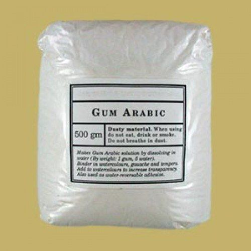 Gums, Resins & Varnish : Gum Arabic Powder 500 grams (food grade)