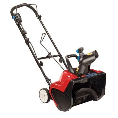 Toro Power Curve 18 in. Electric Snow Blower-38381 - The Home Depot