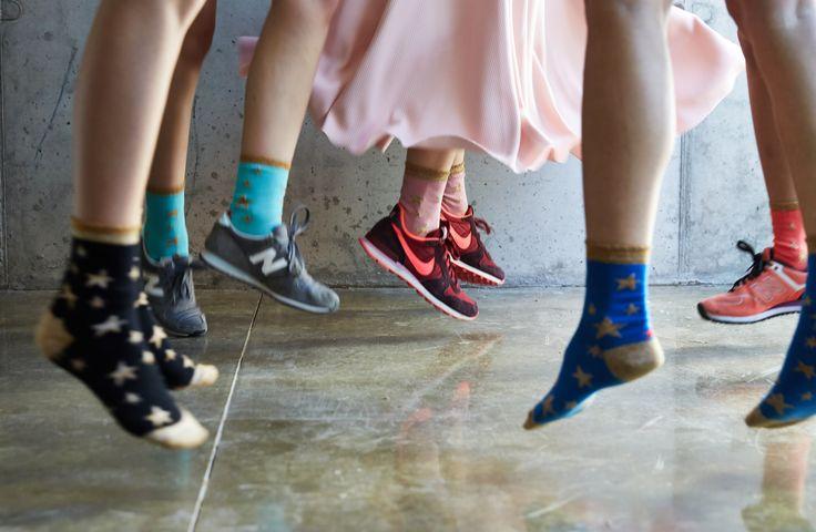 Calcetines Hop Socks. Follow the stars lurex. www.hopsocks.com Foto M. S. T.