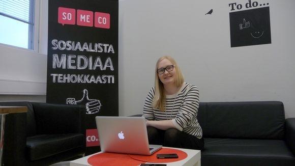 Somecon toimitusjohtaja Minna Valtari