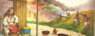 Os remanescentes da antiga civilização maia ainda vivem no Yucatã, Guatemala, Honduras e o Estado mexicano de Vera Cruz. No início da sua história os maias, que habitavam as regiões do norte mexicano, rumaram para o sul.Ao chegarem ao sul, aprenderam a fazer cerâmica com argila e a cultivar os campos. Estabeleceram-se na península e se juntaram a eles os Itzá, um grupo da mesma estirpe.