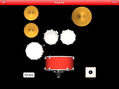 inger Drums är tre fantastiska trumset på din iPhone, iPod Touch eller iPad.  Välj mellan tre fantastiska professionellt inspelade trumset -...