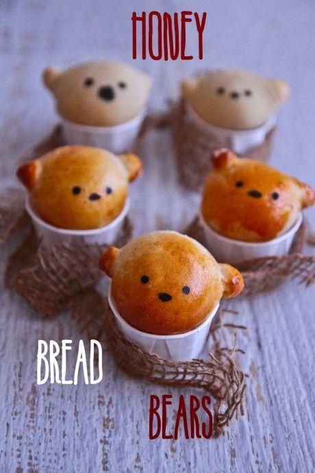 honey bread bears from @Lorraine Elliott