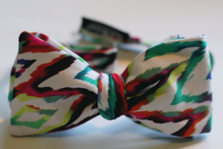Into the Rainbow Self-tie Bow Tie | $24.00