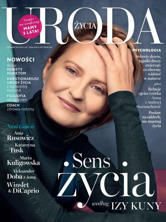 Stylist Marcela Stańczyk, Uroda Życia, Cover Story with Iza Kuna | Picture That