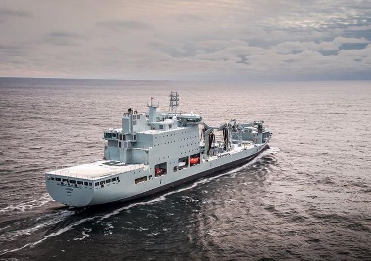 Davie Shipbuilding delivers M/V Asterix to Canadian Navy