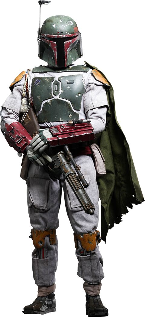 Boba Fett Quarter Scale Figure by Hot Toys