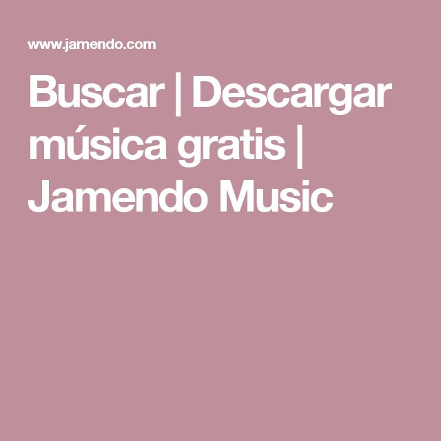 Buscar   Descargar música gratis   Jamendo Music