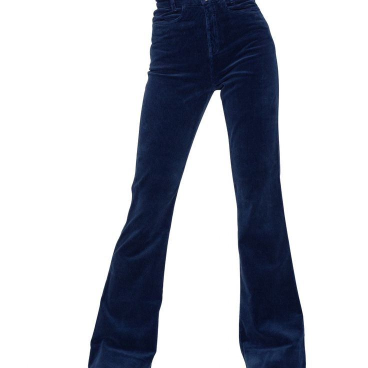 Flare Jeans Cord Midnight Blue