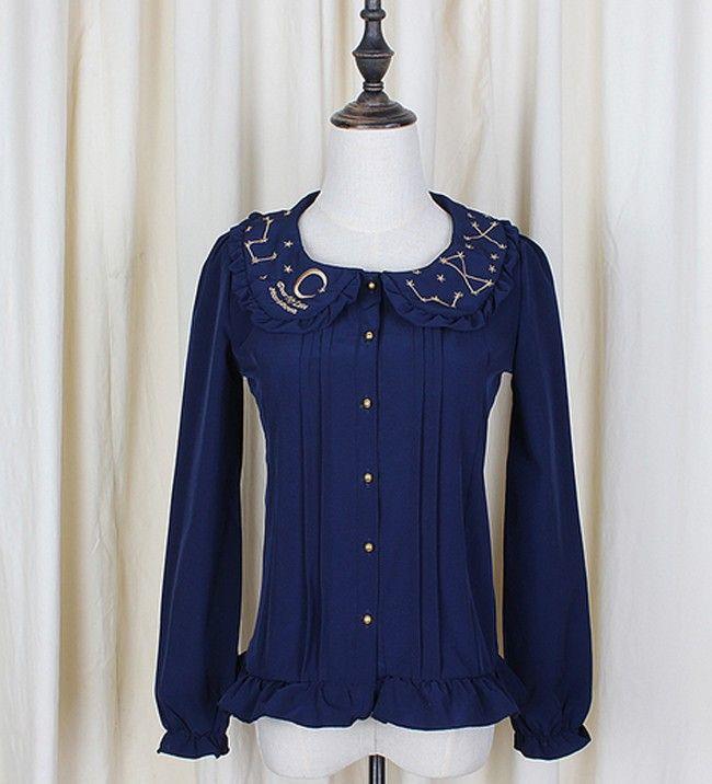 2015 Nieuwe Mode Vrouwen Zomer Zoete Chiffon Lolita Blouses Korte Mouw Wit Shirt voor Meisje Camisa Mujer in           nieuwe Mode Vrouwen Zomer Zoete Chiffon Lolita Blouses Korte Mouw Wit Leuke Shirt voor Meisje Cami van Shirts& blouses op AliExpress.com | Alibaba Groep