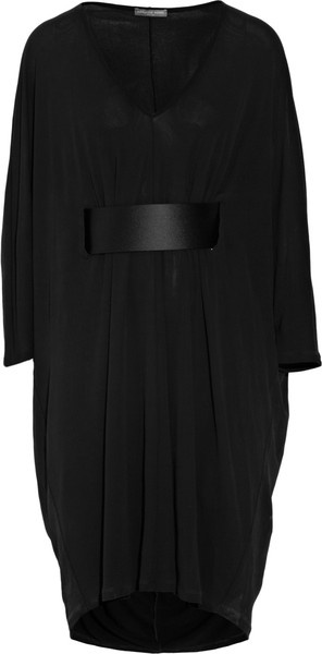 Belted Jersey Kaftan Dress