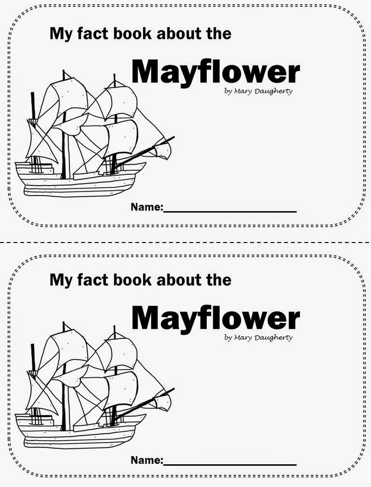 Mayflower nonfiction book with close activities by M.A.D