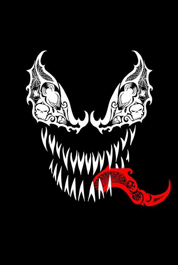 Tribal Venom Fine Art Print by LVBart on Etsy, $15.00