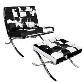 Barcelona Chair Inspired By Mies Van Der Rohe Replica