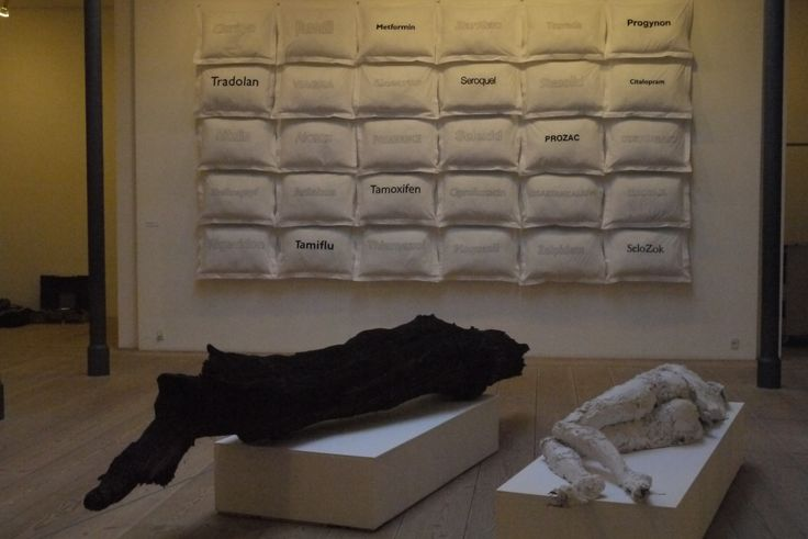 installation by Marina Pagh The pillow case