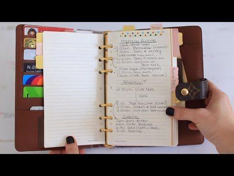 ♥ Life Planning & Getting Organized (My Agenda, Filofax & More) ♥ - YouTube