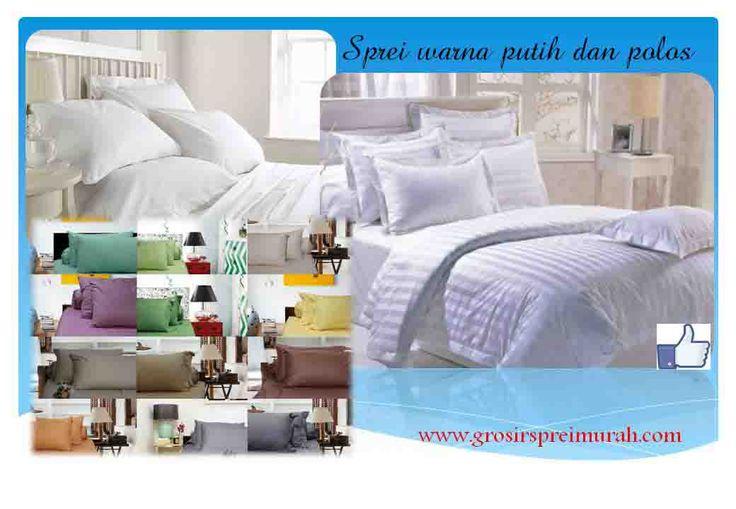 Pengin mendekorasi interior kamar tidur dengan Inspirasi dari suite room hotel? #Grosirspreimurah menyediakan #sprei putih polos atau salur dari bahan katun yang lembut. Pesan di spreibed@yahoo.com atau 081381649865