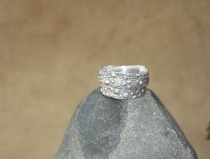Sterling Silver Kina Ring