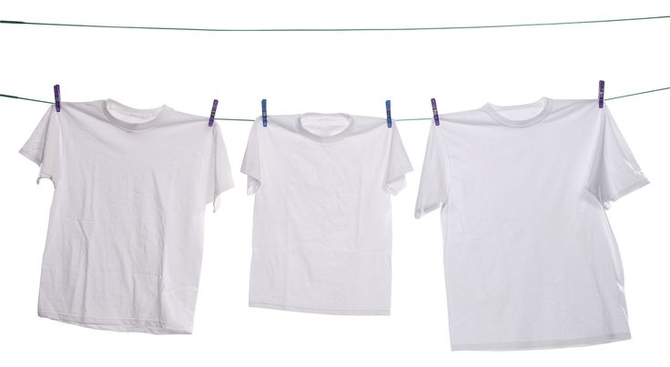Tips para blanquear la ropa amarillenta