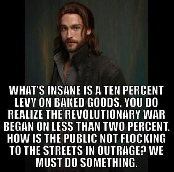 Ichabod Crane from Sleepy Hollow.  The writers of this show give him the best lines!  A man out of time character with a heavy dose of sarcasm.  Outstanding!