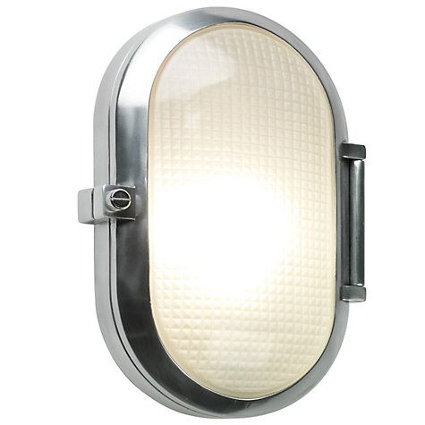 John Lewis Astro Toronto Outdoor Oval Wall Light