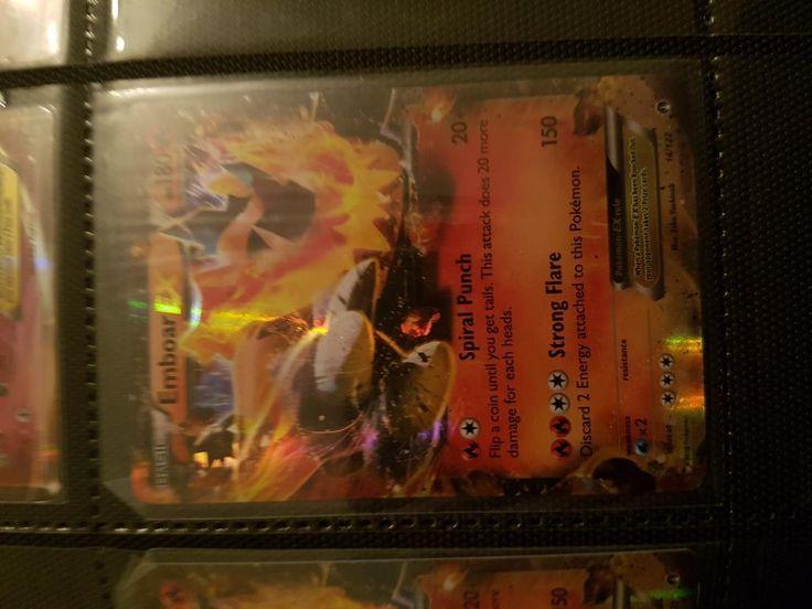 Annons på Tradera: Emboar EX Ultra Rare Pokemonkort Pokemon Kort