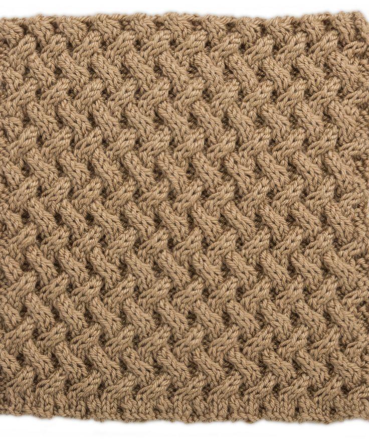 Gittermuster im Quadrat für Strick Dir eine Zopfmuster Patchworkdecke - free pattern