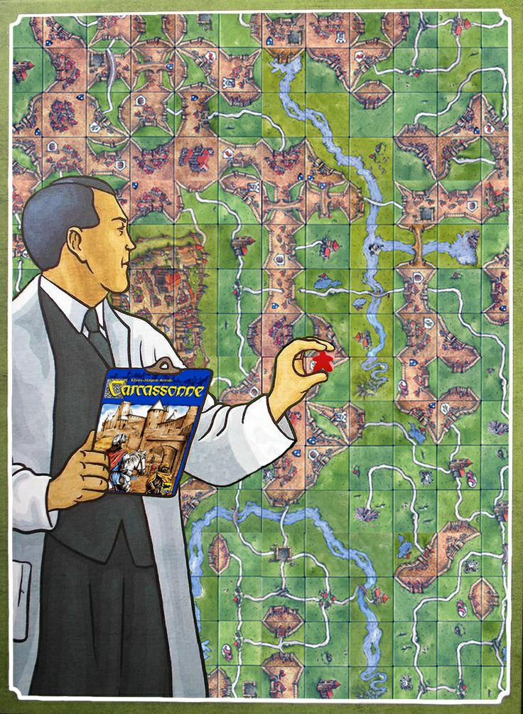 Carcassonne / Power Grid mashup Image | BoardGameGeek