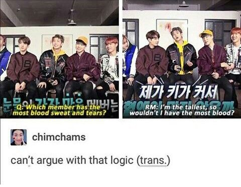 Makes sense tho | BTS Rapmon