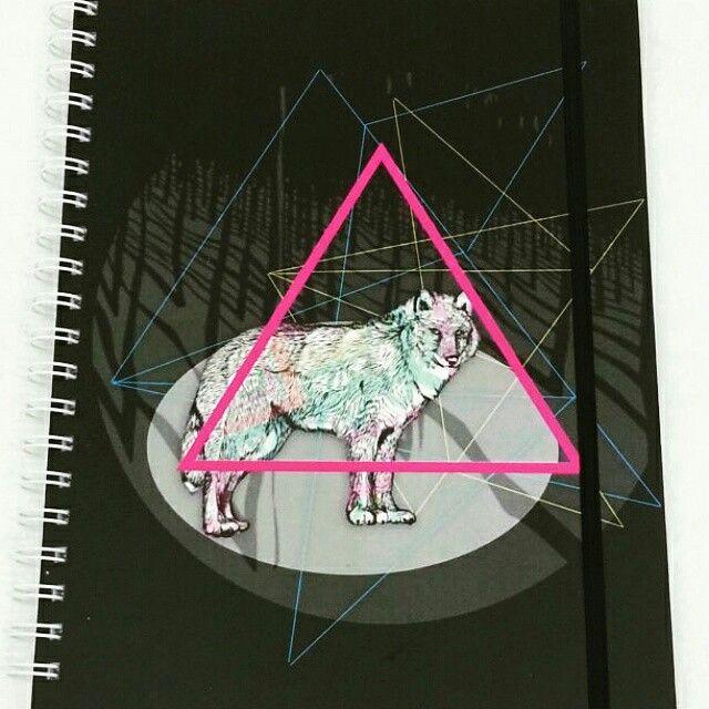 Cuaderno Grande Cuadriculado  www.cristalblack.com