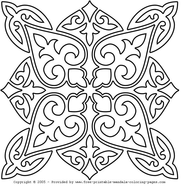 Desenhos da Mandala para Colorir   Desenhos para colorir Online - Desenhos para Imprimir
