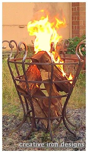 fire basket - Google Search