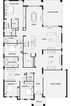 house designs with master bedroom at rear 25 best ideas about australian house plans on 21073