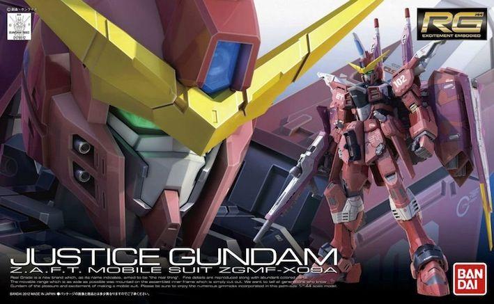 Justice Gundam ZGMF-X09A RG 1/144 - Gundam Toys Shop, Gunpla Model Kits Hobby Online Store, Diorama Supply, Tamiya Paint, Bandai Action Figures Supplier