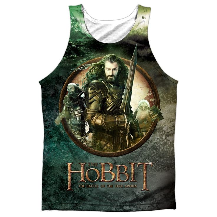 """Checkout our #LicensedGear products FREE SHIPPING + 10% OFF Coupon Code """"Official"""" Hobbit/dwarves Vs Azog-adult 100% Poly Tank T- Shirt - Hobbit/dwarves Vs Azog-adult 100% Poly Tank T- Shirt - Price: $24.99. Buy now at https://officiallylicensedgear.com/hobbit-dwarves-vs-azog-adult-100-poly-tank-t-shirt-licensed"""