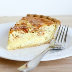 Brie and Bacon Quiche by abitchinkitchen