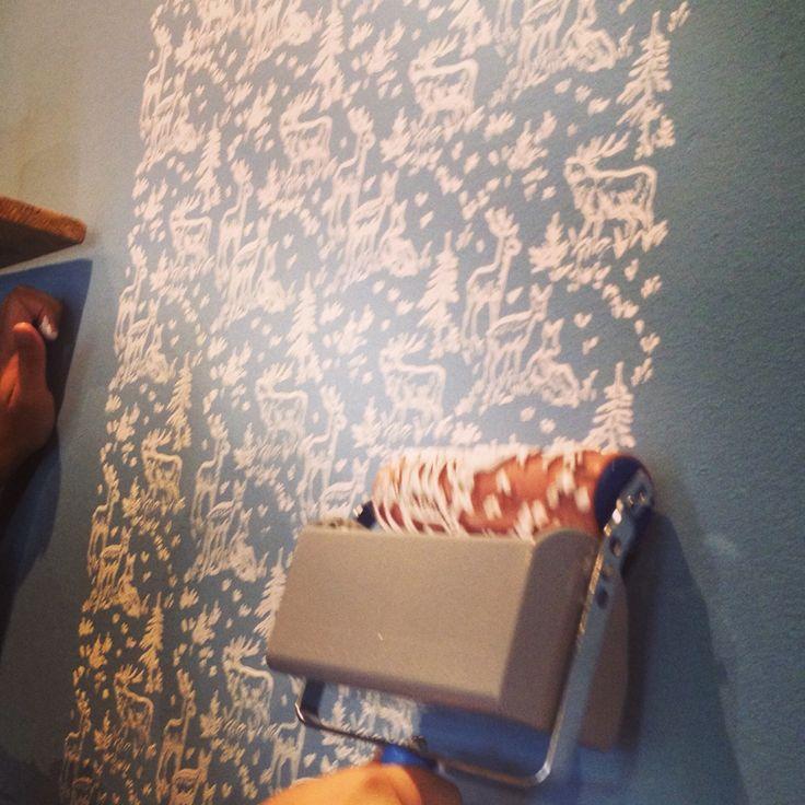 Rodillos para pintar paredes y muebles con diferentes - Rodillos de pintar ...