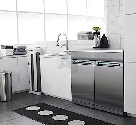 Steal This Look: Scandinavian Modern Laundry Room : Remodelista