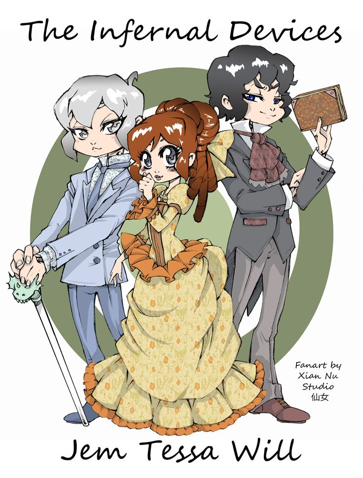 Fanart The Infernal Devices - Cazadores de Sombras by xiannustudio.deviantart.com on @deviantART