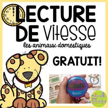 Lecture de vitesse - Les animaux domestiques (Free FRENCH