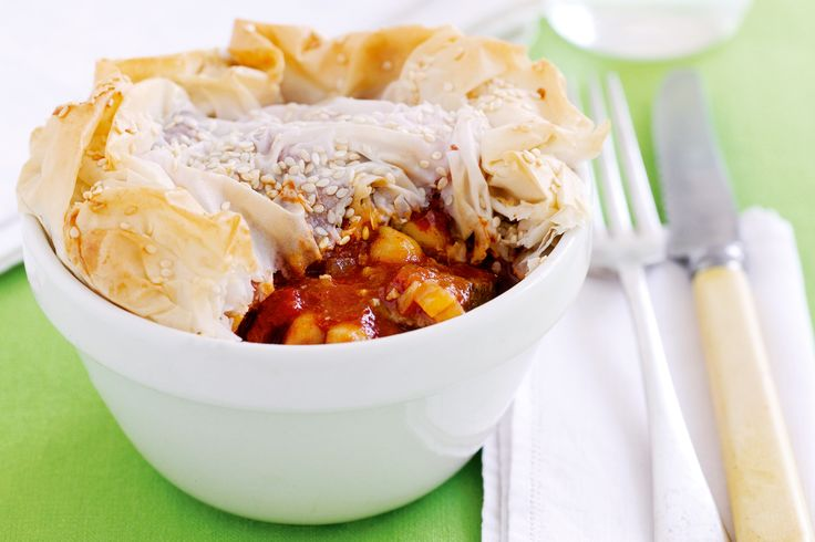 Try+this+savoury+pot+pie+for+a+hearty+winter+warmer+that's+high+in+protein+and+fibre.