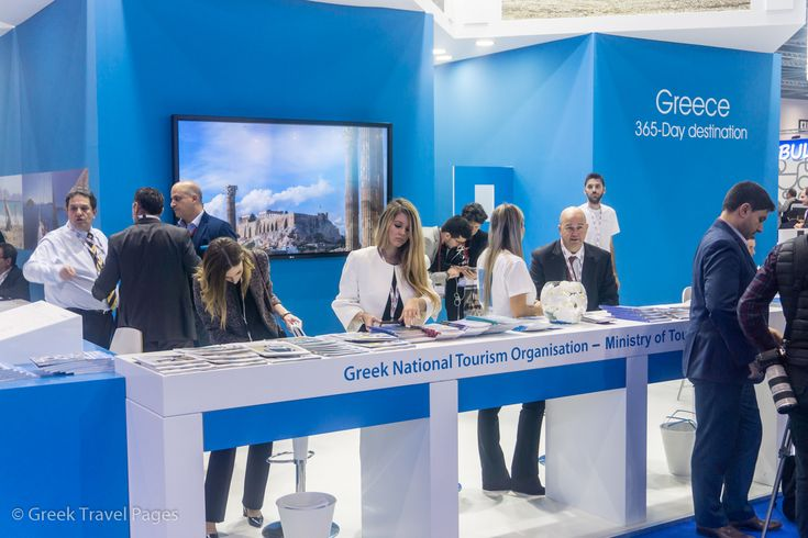 Greece Stand Wins 'Best for Business' Award at WTM London 2017
