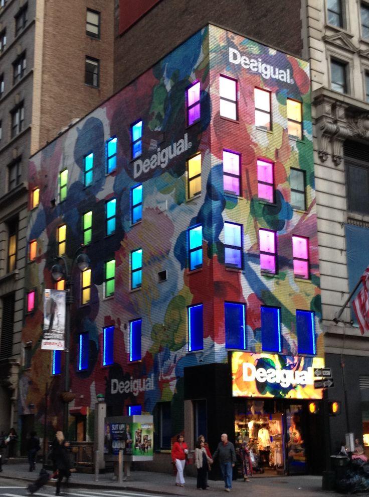 Desigual store - NYC