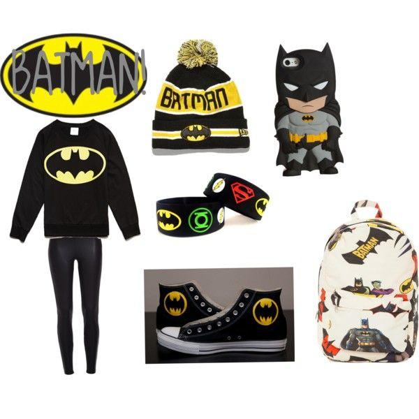 BATMAN OUTFIT!!:)