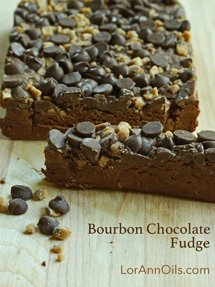 Bourbon Chocolate Fudge Recipe | LorAnn Oils