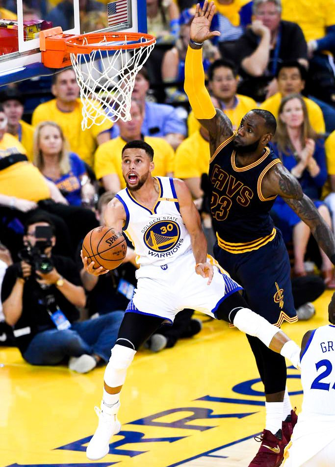 """Stephen Curry 2017 NBA Finals"" over LeBron"
