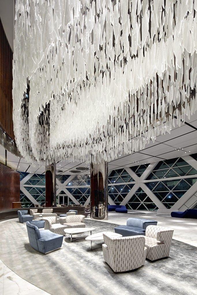 HYATT Capital Gate Abu Dhabi. Photography by Lasvit.
