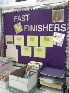 The Stress Free Spanish Teacher!: What to do with Fast Finishers?
