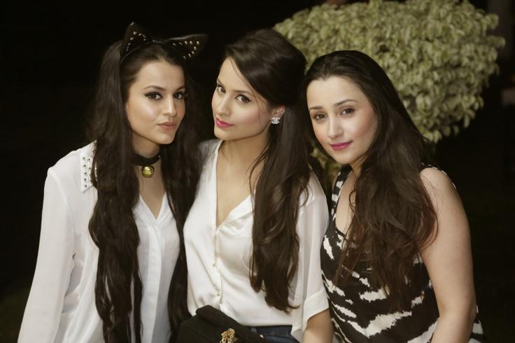 Hira, Maha and Madiha Hashmi