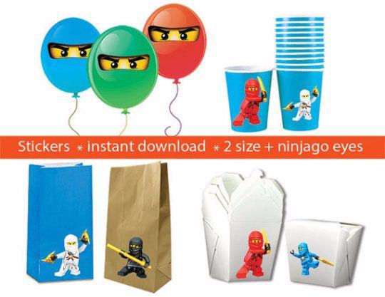 SOFORTIGER DOWNLOAD *** Ninjago bedruckbare Aufkleber / PARTEIBEVORZUGUNGEN Einfach drucken Sie aus, schneiden Sie aus und Heften Sie sich an etwas, dass Sie solche Ballons, behandeln Taschen, Tassen, Boxen, Wand-Dekor etc. wollen... *********************************************************************** Um ein digitales Produkt handelt, wird kein physisches Produkt gesendet werden. Sie können so oft wie Sie wollen ausdrucken ************************************************************...